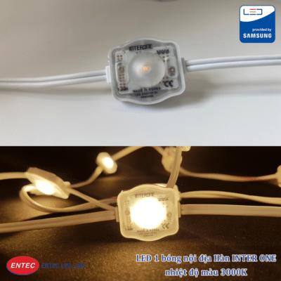 LED 1 bóng INTER ONE nhiệt độ 3000K