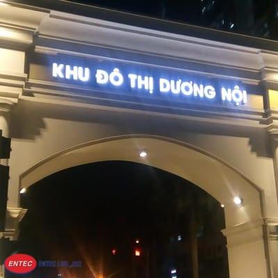 LED 1 bóng cho biển khu đô thị Dương Nội