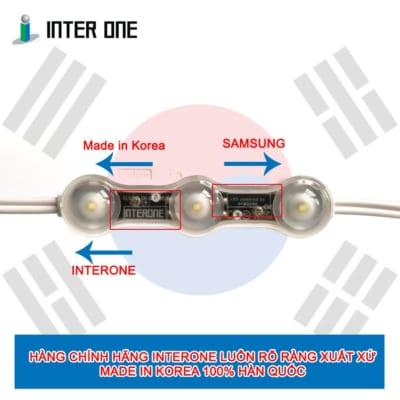 LED rõ ràng xuất xứ 100% Made In Korea