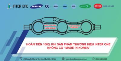 """Hoàn tiền 100% ngay khi phát hiện LED giả xuất xứ (không có """"Made In Korea"""")"""