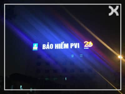 Biển quảng cáo tòa nhà sử dụng LED INTER ONE 100% Made In Korea