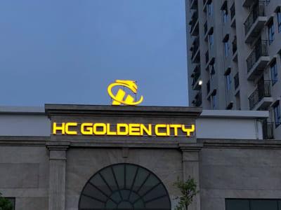 Biển quảng cáo tòa nhà ấn tượng, dễ tạo sự chú ý