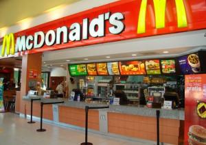 Biển quảng cáo của McDonalds
