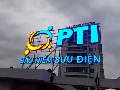 Biển quảng cáo tòa nhà đẹp